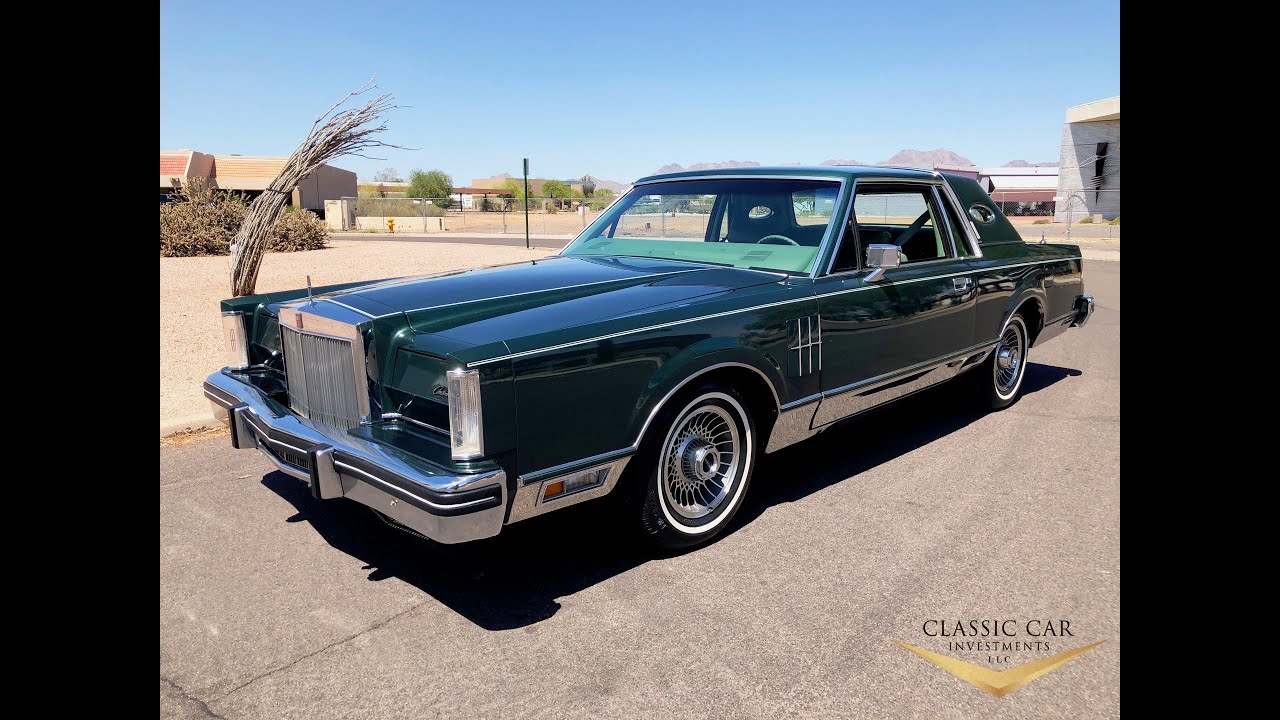 1980 lincoln continental mark vi only 14k miles sold. Black Bedroom Furniture Sets. Home Design Ideas