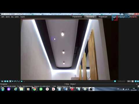 Двухуровневый потолок в коридоре 5 кв м