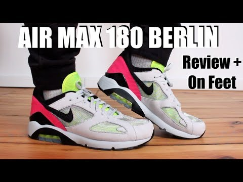"AIR MAX 180 ""BACON"" REVIEW AND ON FEET YouTube"