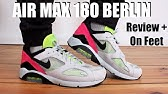 Air Max 180 Bacon Review And On Feet Youtube
