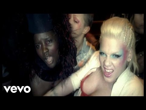 P!nk - God Is A DJ (Video)