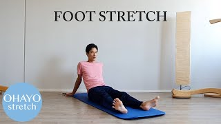 "Ohayo 1min stretching ""Foot"""