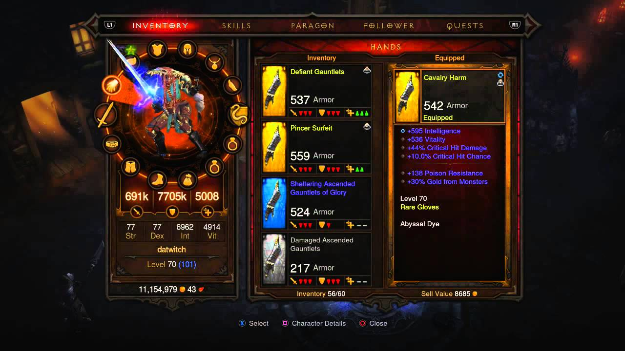 Diablo  Build Sorcier