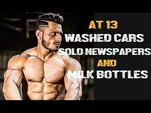 Mr India's Inspirational Journey | SOLD NEWSPAPER, MILK | WASHED CARS