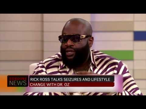 Rick Ross Talks About His Seizures & Losing 100 lbs with Dr. Oz
