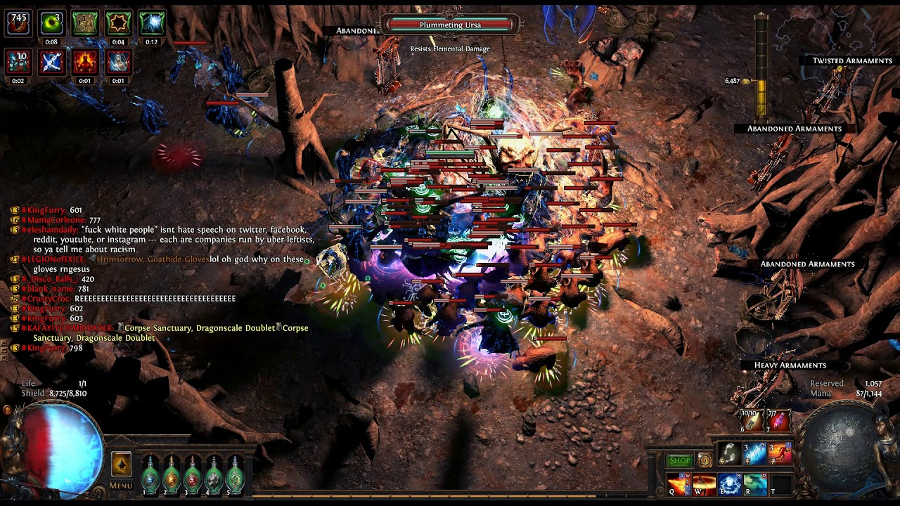 [3 4 Path of Exile] Delve 600 | Angry Walrus Build l 85k Armor CI Aegis  Aurora