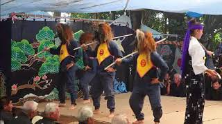 国指定の重要無形文化財の小浜島の結願祭開催
