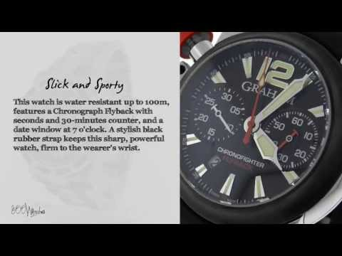 Graham ChronoFighter Flyback 2FBAVB01A Limited Of 100 Watch