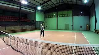 Tatiana Simova Tennis college recruiting  video 2018