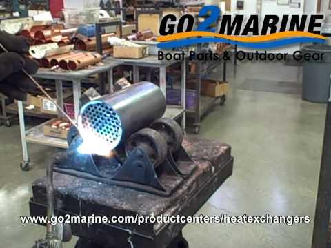 Marine Heat Exchangers & Oil Coolers