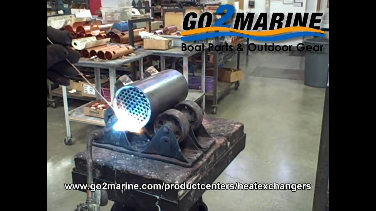 Marine Heat Exchangers Amp Oil Coolers Youtube