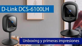 D-Link DCS-6100LH: Conoce esta cámara Full HD 1080p por 30 euros con grabación en Cloud gratis