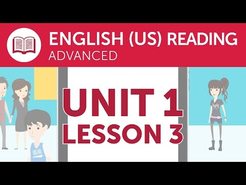 Advanced American English Reading - Reading American English Directions
