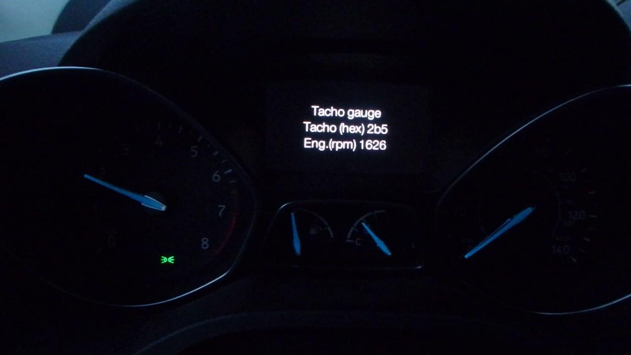 2017 Ford Escape Hidden Menu/Self-Diagnostic Mode