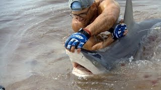 Watch This Man Wrestle a Shark to Shore with His Bare Hands