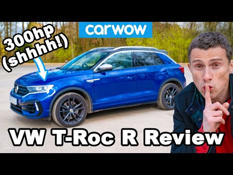 A VW Golf R In Sheep's Clothing - New T-ROC R Review!