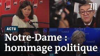 Incendie de Notre-Dame de Paris : les réactions des politiques