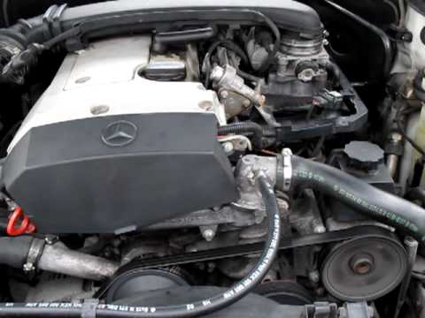 1998 Mercedes c230 Engine rattle - YouTube