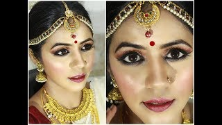 South indian bridal makeup // In hindi Language