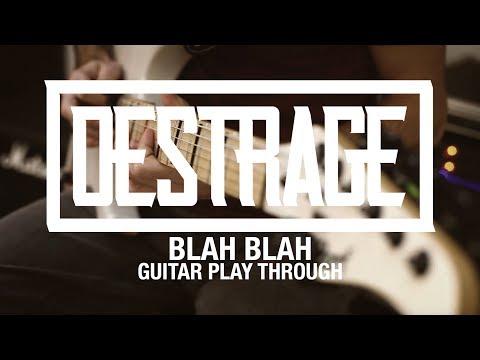 """Destrage """"Blah Blah"""" (Guitar Playthrough)"""