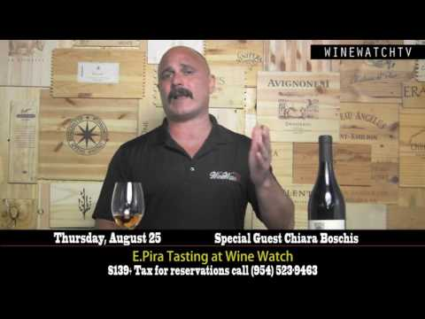 E  Pira Tasting at Wine Watch - click image for video