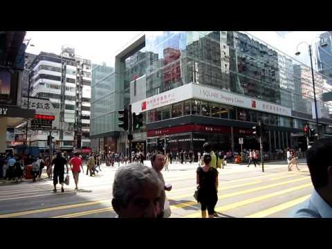 Chine: Street Life (Part 2) in Kowloon in Hong Kong, China