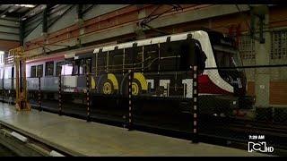 El Metro de Medellín convirtió uno de sus trenes en un museo rodante