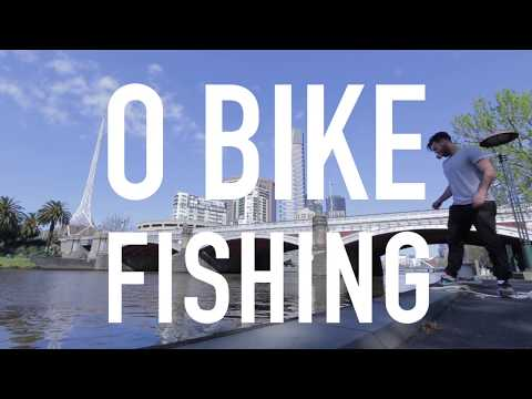 Fishing For O Bikes In The Yarra River