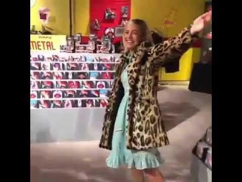 Brie Larson Stealing Things!