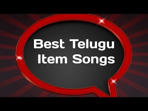Best Telugu Item Songs Jukebox - Dance Numbers