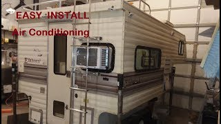Window Air Conditioner Fitted to a Truck Camper RV, the BEST model to use ( info below )