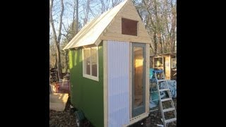 Deek's 45 Sq. Ft. Tiny House/cabin On Wheels (rv/camper/shed Office)