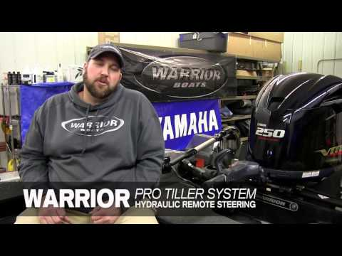 Warrior Pro Tiller System - Warrior Boat Center - Ramsey, MN & Chippewa Falls, WI