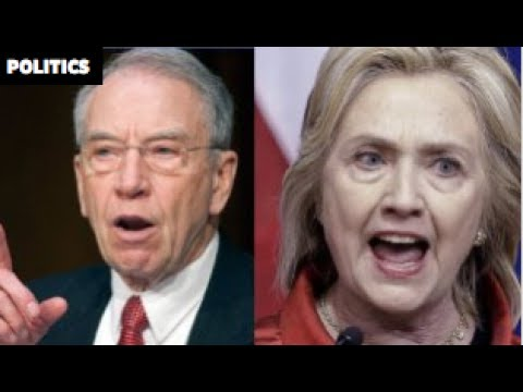 SEN  CHUCK GRASSLEY OPENS CORRUPTION INVESTIGATION INTO HILLARY CLINTON!