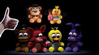 КО МНЕ ПРИШЛИ ИГРУШКИ ФНАФ! Обзор на плюшевые игрушки Five Nights at Freddy's
