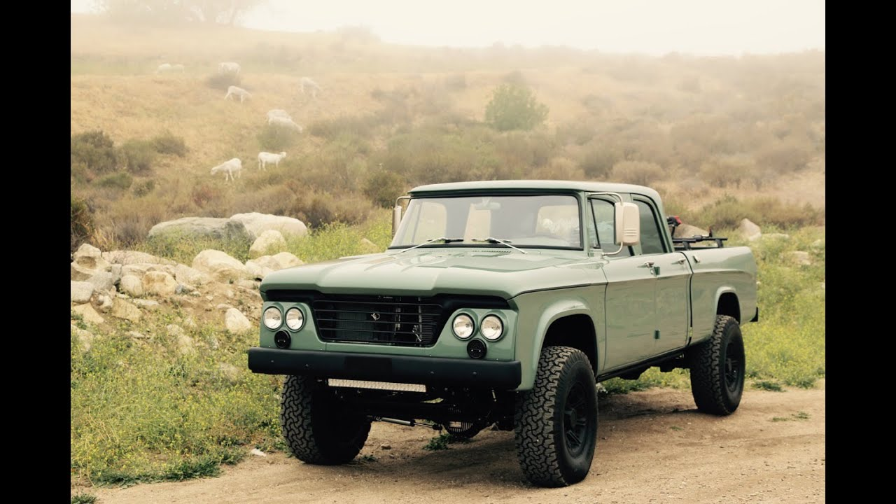 Dodge Power Wagon For Sale >> ICON Dodge D200 Power Wagon Crew Cab Reformer - YouTube