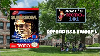 Mort's Tecmo 101 Video Series - Defend R&S Sweep L