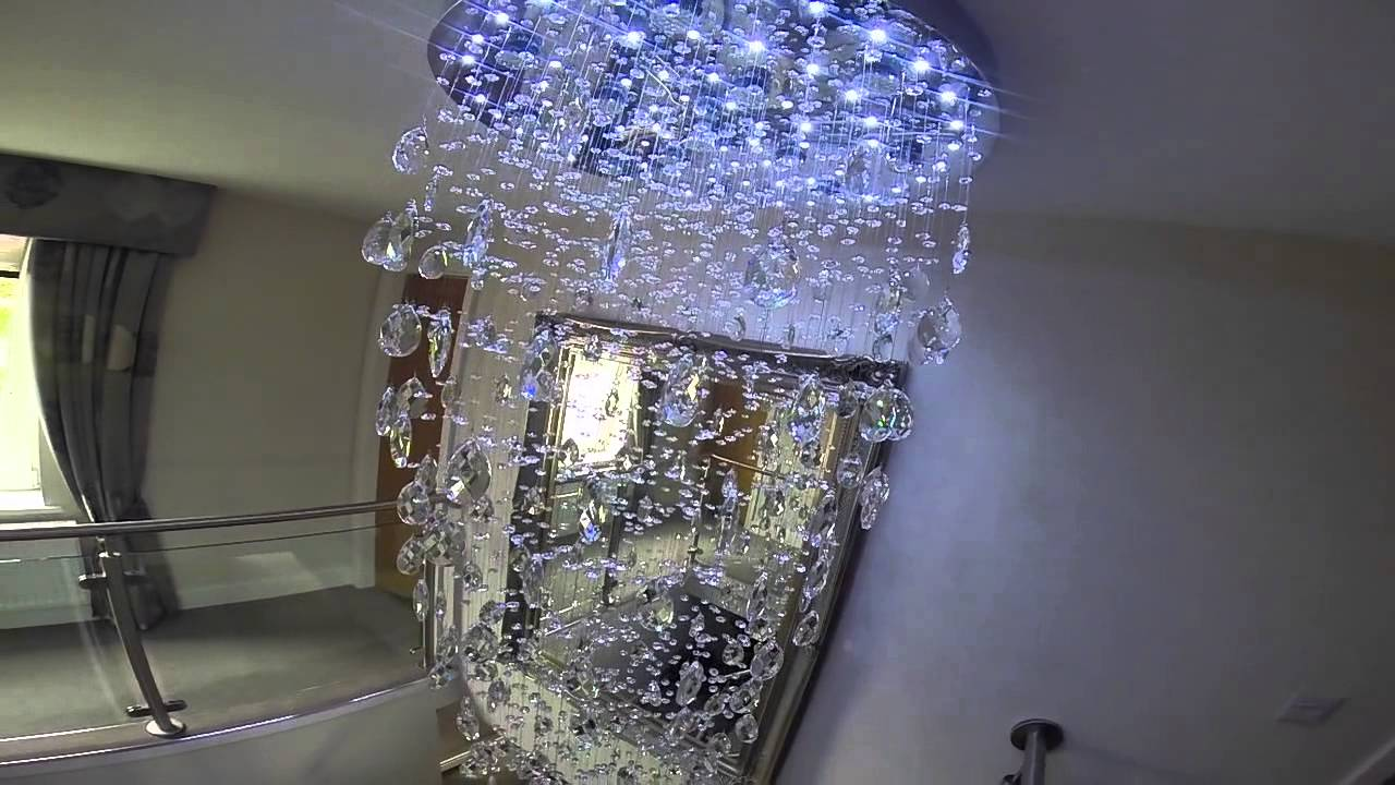 Bespoke raindrop chandelier october 2015 youtube aloadofball Image collections