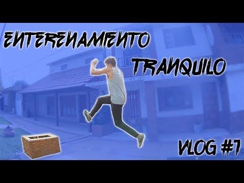Entrenamiento tranquilo |Vlog #1 |♠️Terminal Parkour♠️