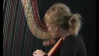 in the harp of anne vanschothorst harpist - ze antwoordt niet - poet dichter pom wolff