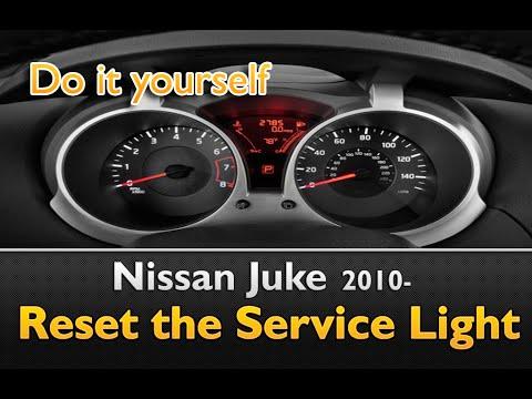 Nissan Juke Service Light Reset Guide 2 Steps