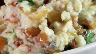 Bacon Bleu Cheese Mashed Potatoes Recipe (phantom Gourmet)