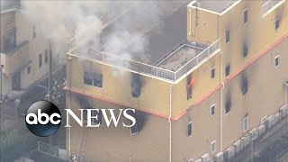 Arson suspected in Kyoto blaze that may have killed at least 20 thumbnail