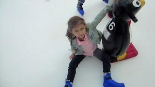تزلجنا لأول مرة في دبي مول!