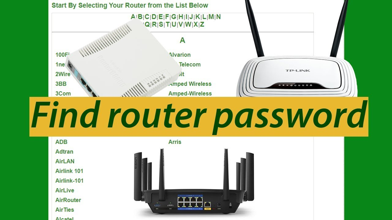 how to change router admin password