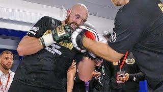 Tyson Fury TRAINING! for Deontay Wilder IMMEDIATELY After Leaving The Ring!!!