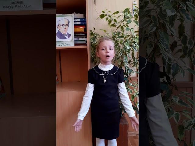 Изображение предпросмотра прочтения – ВикторияСтепанова читает произведение «Снежок» Ф.И.Тютчева