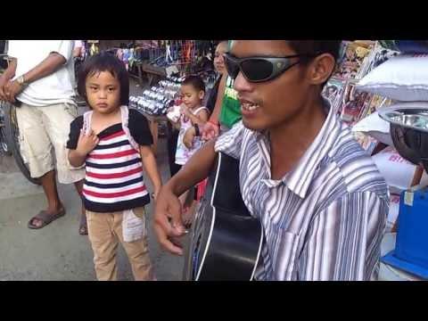 A Blind Musician of Calbayog City, Western Samar  w/ amazing voice
