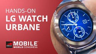 Testamos o belíssimo LG Watch Urbane [Hands-on | MWC 2015]