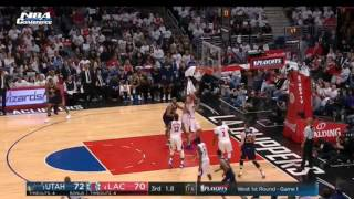 NBA PLAYOFFS CLIPPERS VS JAZZ GAME 1 FULL GAME HIGHLIGHTS APRIL 15, 2017